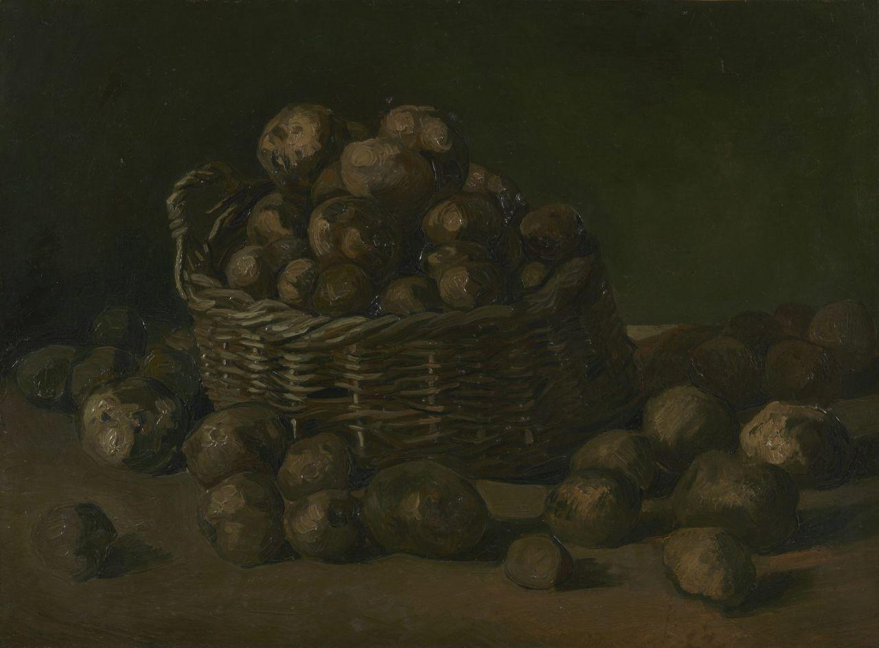 Bag of Potatoes stilllife