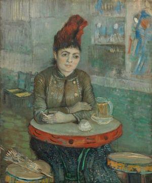 Vincent van Gogh, In het café: Agostina Segatori in Le Tambourin, 1887