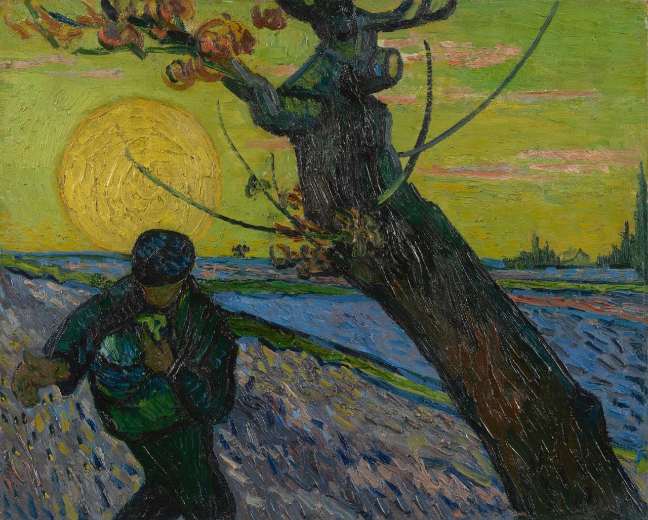 Vincent van Gogh - The Sower - Van Gogh Museum