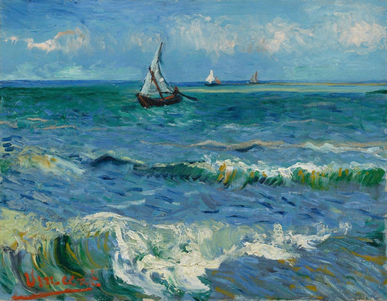 Seascape near Les Saintes-Maries-de-la-Mer Currently - Vincent van Gogh - Van Gogh Museum
