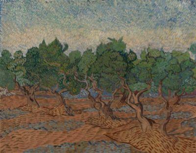 Vincent van Gogh, Olive Grove, 1889